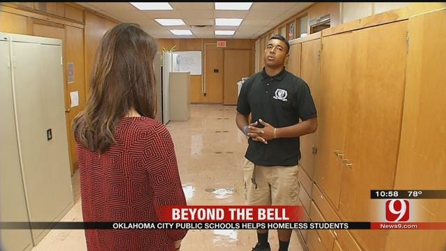 Beyond The Bell: OKCPS Helps Homeless Students