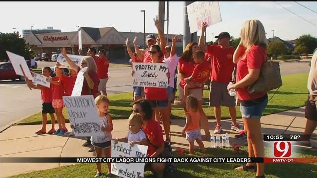 Midwest City Labor Unions Fight Back Against City Leaders