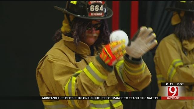 Metro Firefighters Use Song, Dance To Teach Kids About Fire Prevention