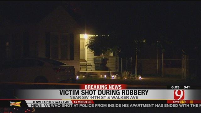 OKC Police: Man Shot During Attempted Robbery