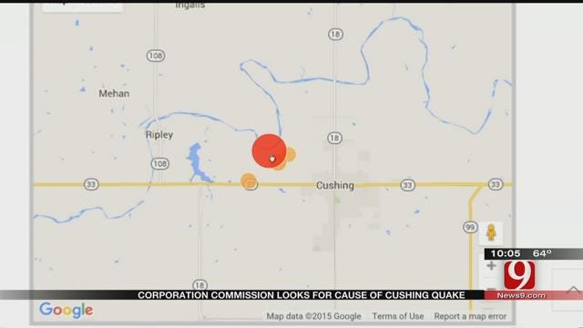 Large Earthquakes Continue To Rattle Cushing Residents