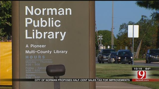 Norman City Improvements Up For Vote Tuesday