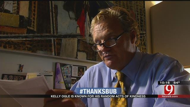 Share Your Random Acts Of Kindness In Honor Of Kelly Ogle's 25 Years At News 9