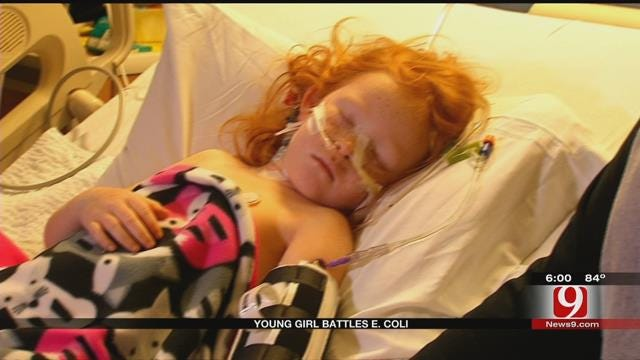 MWC Girl Fights E. Coli Infection