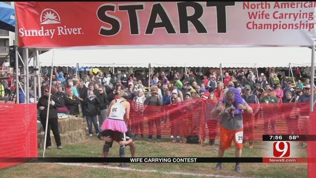 16th Annual North American Wife Carrying Championship