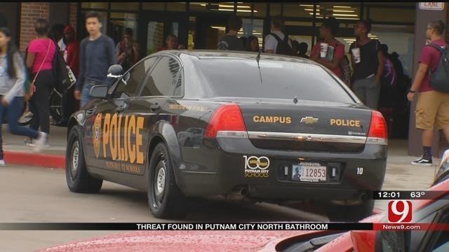 Threatening Note Found At Putnam City North HS