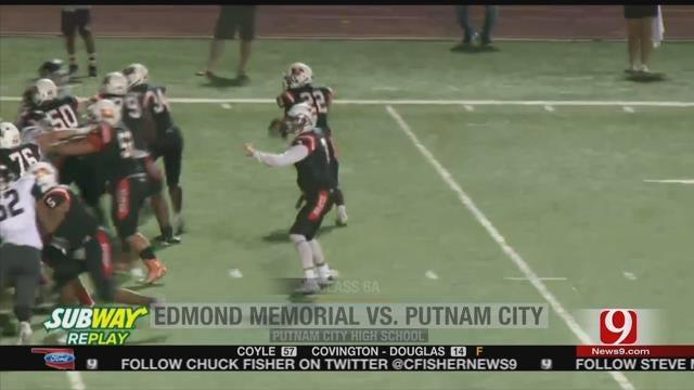 Putnam City Shocks Edmond Memorial On Controversial TD