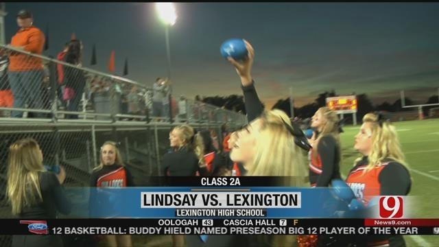 Lindsay Escapes Lexington