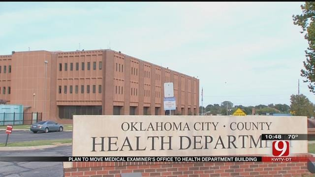 Fallin Announces Plan For Medical Examiner's Office's Relocation