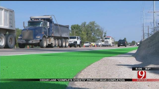 Norman's Green Bike Lane To Open By End Of Week