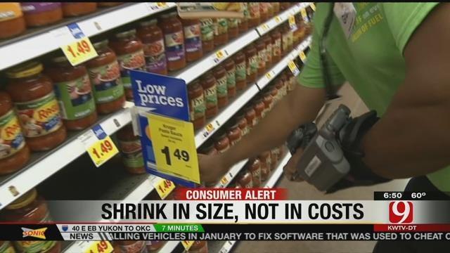 Are Companies Shrinking Their Products?