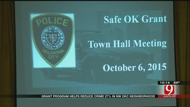 Grant Program Helps Reduce Crime In NW OKC