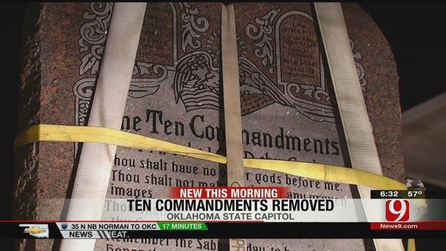 OCPA Now Home Of Ten Commandments Monument