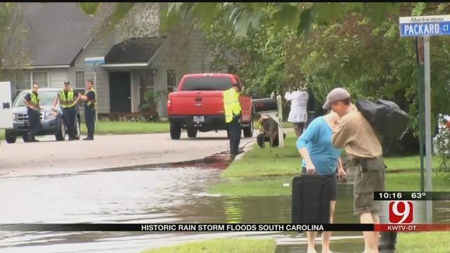 South Carolina Sees Historic Rainfall