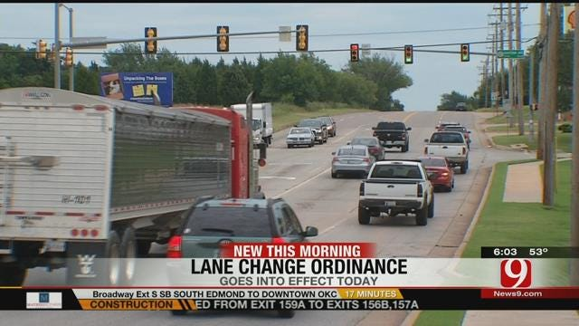 New OKC Ordinance Regarding Turn Signals Goes Into Effect Friday
