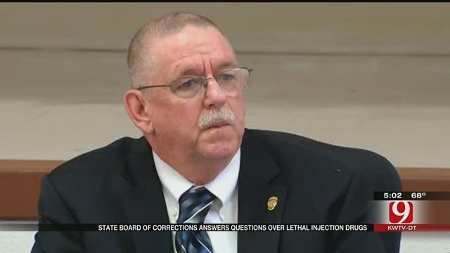 OK DOC Director Speaks To Press Regarding Richard Glossip's Execution Stay