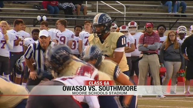 Casey Thompson Leads Southmoore To Win Over Owasso