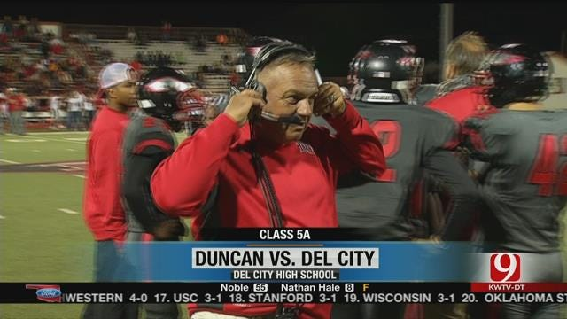 Del City Hangs On To Beat Duncan