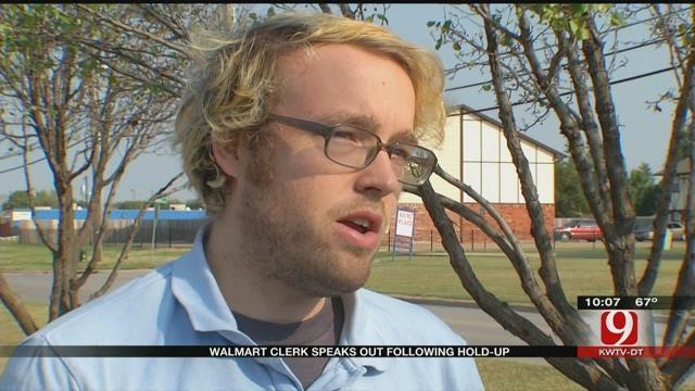 OKC Wal-Mart Clerk Speaks Out After Man Robs Register