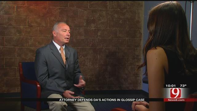 Attorney Defends OK Co. DA In Glossip Case