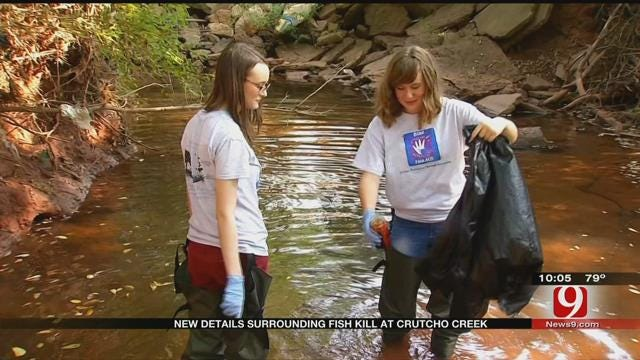 Young Volunteers Monitor Water Qualities In Streams