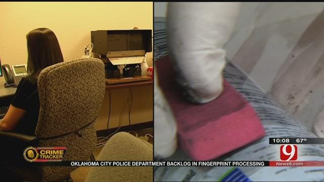 Fingerprints Gathering Dust At OKC Police Department