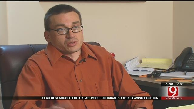 Research Seismologist Leaving Oklahoma Geological Survey