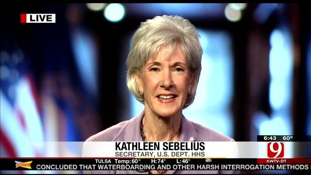 Kathleen Sebelius Answers Questions About Affordable Care Act