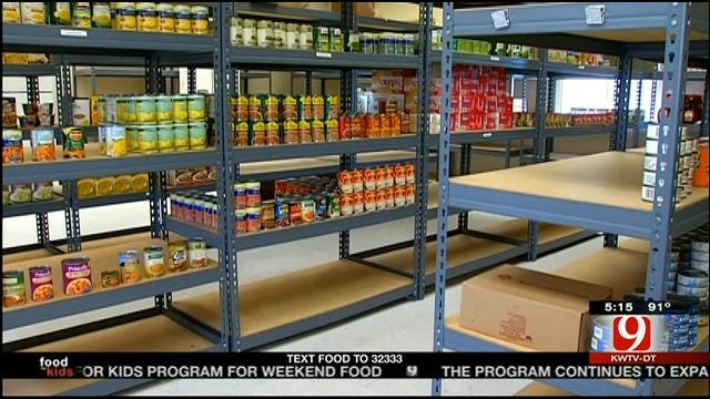 School Food Pantries Help Hungry Oklahoma Children
