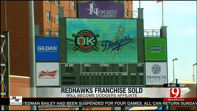 RedHawks Sold To Dodgers