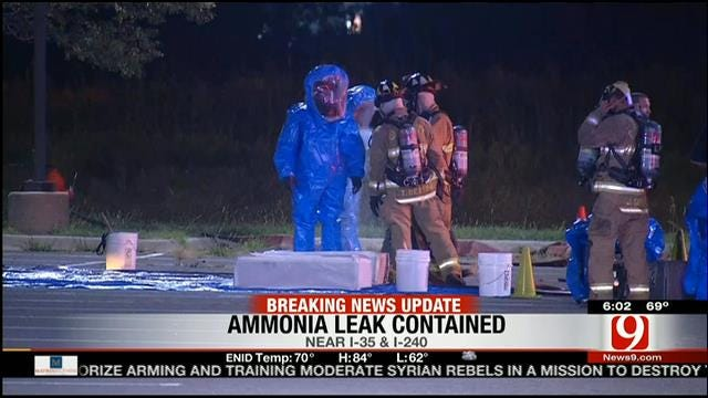 Crews Cap Ammonia Leak At Blazers Ice Centre In OKC