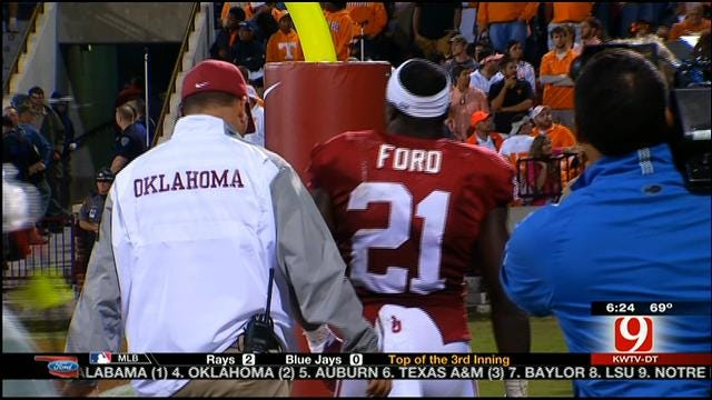 OU Report: Keith Ford To Miss 2-3 Weeks