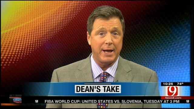 Dean's Take: Jerry Is No Dummy