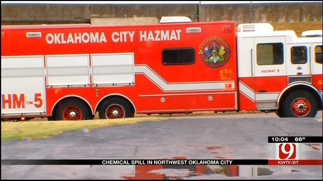 OKC Chemical Spill Has Neighborhood Concerned