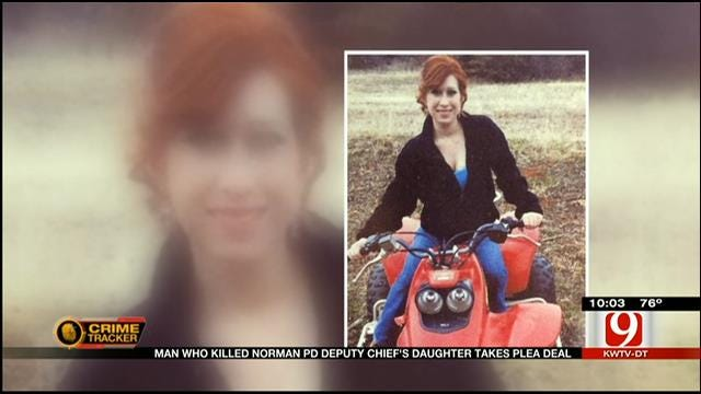 Man Who Killed Norman PD Deputy Chief's Daughter Takes Plea Deal