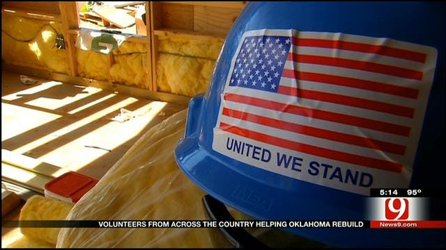 Volunteers From Across The Country Helping Oklahoma Rebuild