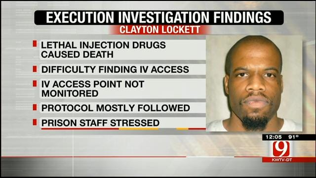 DPS Releases Findings Report In Clayton Lockett Execution