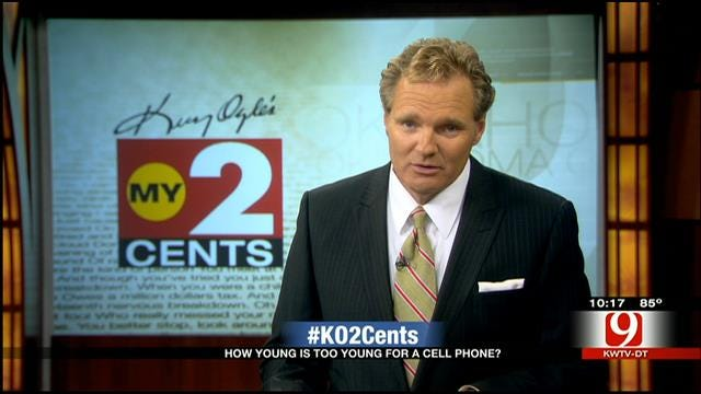 My 2 Cents: How Young Is Too Young For A Cell Phone?