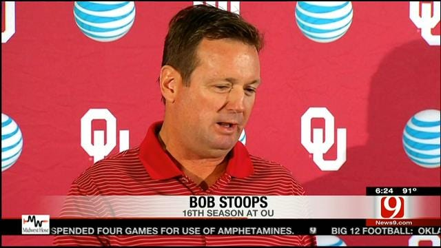 OU Football: Stoops Pleased With Sooners' Opening Performance
