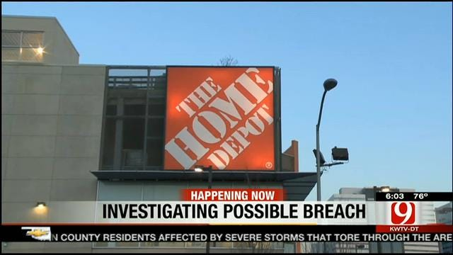 Home Depot Investigates Possible Credit Card Data Breach
