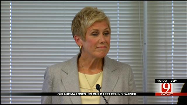 Oklahoma Loses 'No Child Left Behind' Waiver
