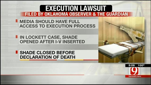Lawsuit Filed To Allow Media To Witness Entire Executions
