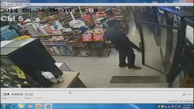 WEB EXTRA: Police Release Surveillance Video Of Serial Armed Robbery Suspect