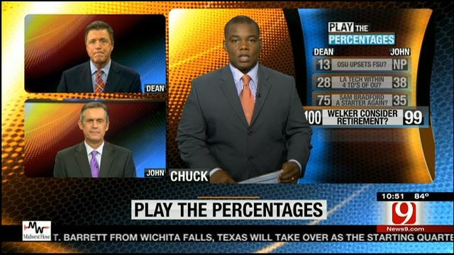 Play The Percentages: August 24