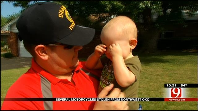 Disabled Veteran Latest Victim In String Of Motorcycle Thefts