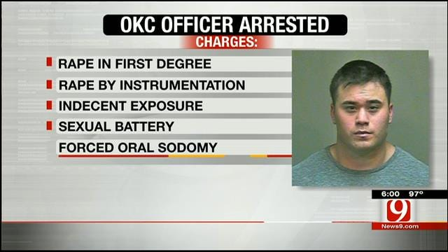 OCPD Officer Arrested For Alleged Rape, Sexual Battery