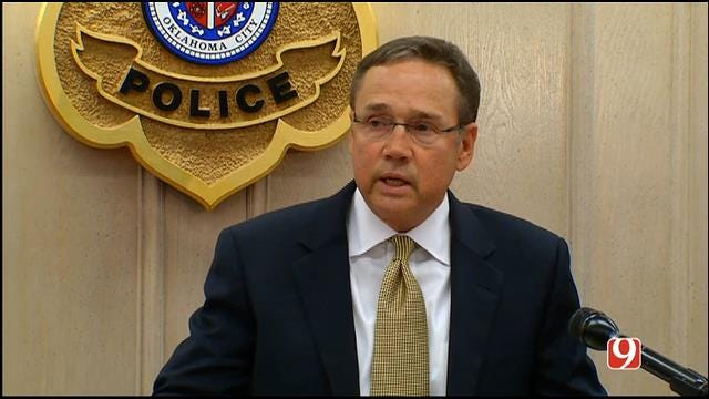 WEB EXTRA: Oklahoma City Police Chief Announces Arrest Of Officer