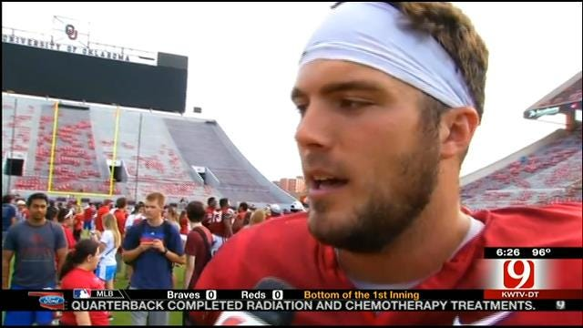 Talking With Blake Bell After OU Student Day