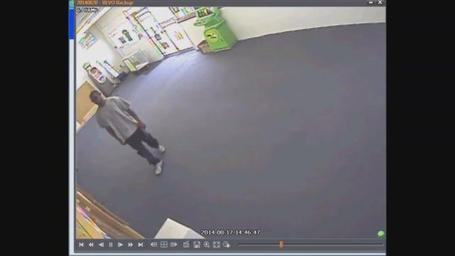 WEB EXTRA: Surveillance Video Of OKC Serial Robbery Suspect