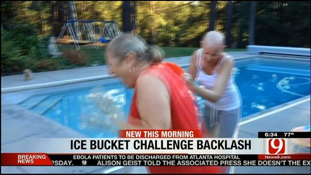 Some Groups Criticize 'Ice Bucket Challenge'